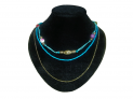 Collier multicolore Accueil