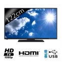 CONTINENTAL EDISON TV LED Full HD 122cm Accueil