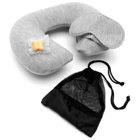 kit travel coussin et masque de voyage leclerc voyages. Black Bedroom Furniture Sets. Home Design Ideas